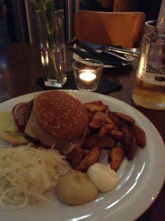Chesse BBQ Burger, superlecker