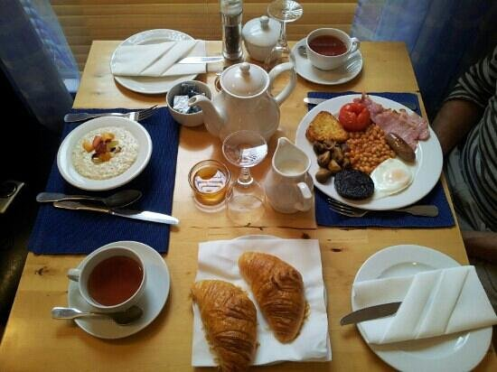 Das phantatische Frühstück im Atlantic Heights