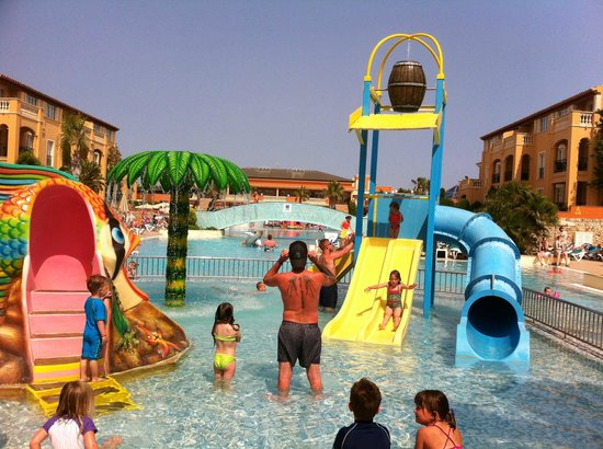 Holiday Village Menorca: The splash park
