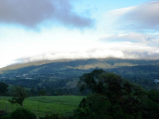 Poas Volcano Lodge: View of the Poas National Park Area