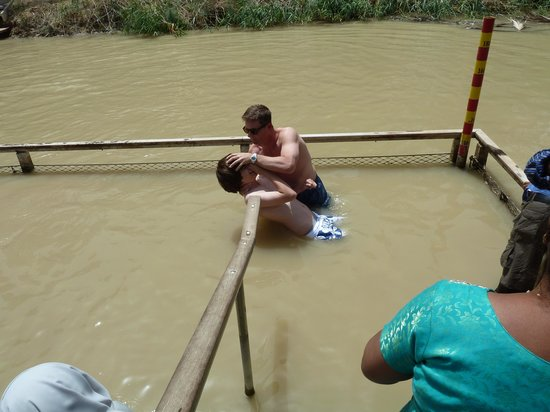 Qasr al-Yahud Baptismal Site: Baptism
