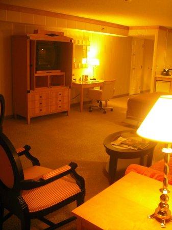 Bally's Las Vegas: the room