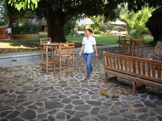 Hotel Casa de Campo Pedasi: courtyard