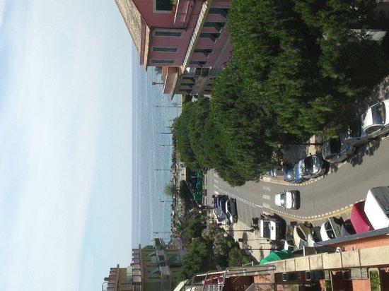 Hotel Corallo: Panorama dal terrazzo dell'hotel