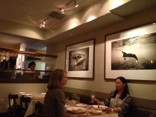 Passionfish: Inside the restaurant