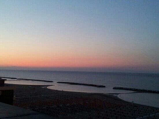 Hotel Pacesetter : dal balcone della nostra camera. .meraviglioso tramonto.  Fabio Cristina marieclaire