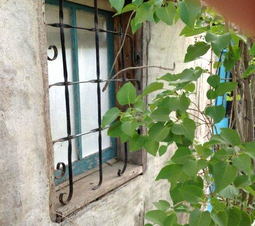 Casas de Suenos Old Town Historic Inn: Window on a casa
