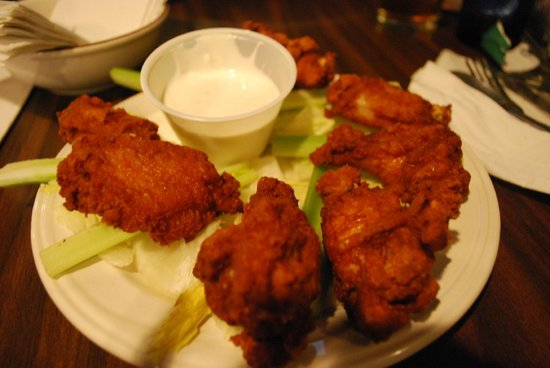 Bullwinkle's Saloon and Eatery: pollo fritto
