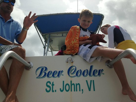Copeland Boat Charters: Gotta love the name of the boat.
