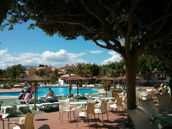 Albir Garden Resort : By the pool
