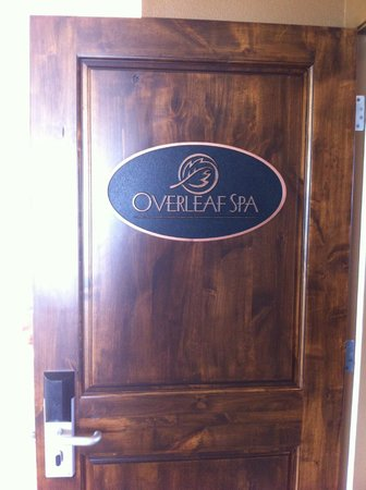 Overleaf Lodge & Spa: Overleaf Spa