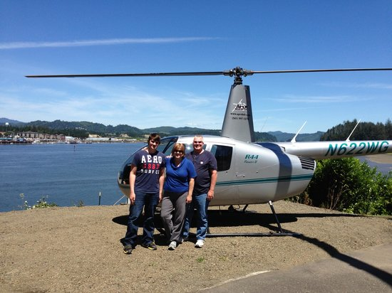 ApexHeli Tours: the three of us