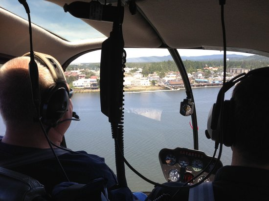 ApexHeli Tours: view from inside