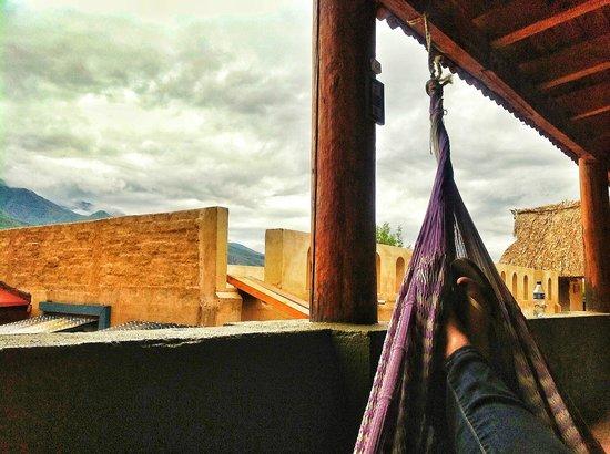 La Villada Inn: hamaca