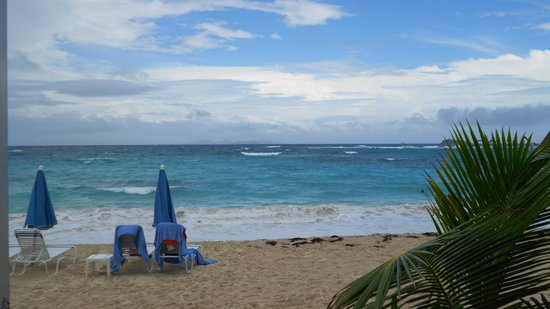 Mr. Busby's Beach Bar : Dawn Beach St Maarten c2013