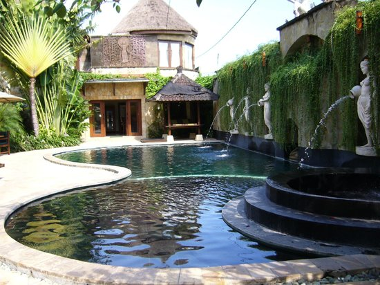 Dewani Villa : Pool & Entrance
