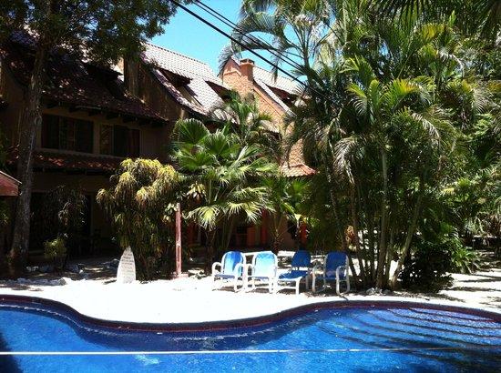 Hotel El Manglar: Pool and rooms.