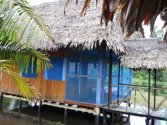 Mapa Te Lodge: Chambre bungalow