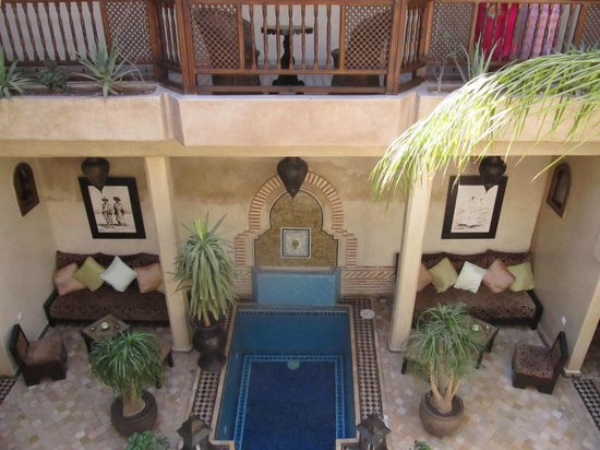 Riad Zayane : from the roof