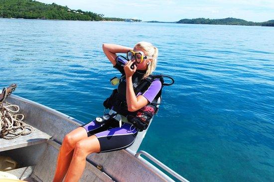 Coralview Island Resort: Diving