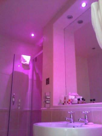 The Crown Spa Hotel Bathroom With Mood Lighting
