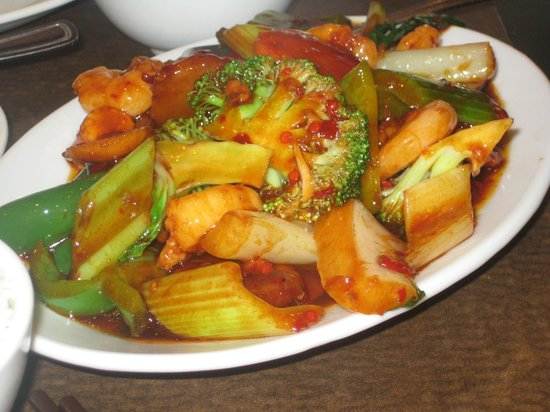 Lunch entree: Shrimp and mixed vegetables - Yelp  |Shrimp With Mixed Vegetables