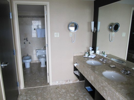 Hilton Quebec: Bathroom