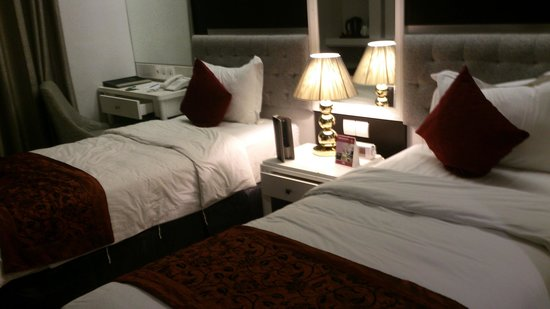 Gino Feruci Braga Hotel : twin room