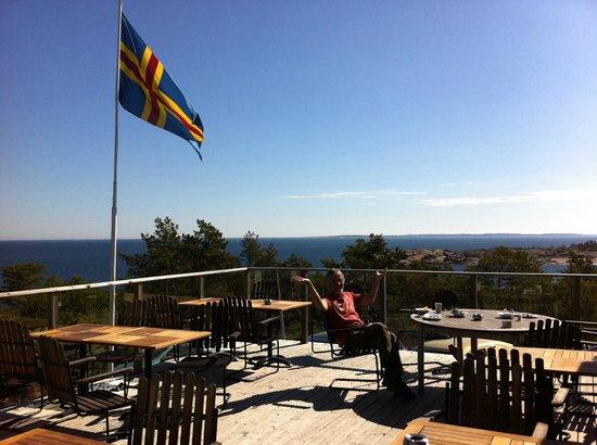 HavsVidden, BW Premier Collection: Restaurant balcony