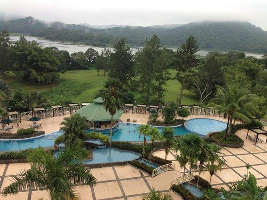 Gamboa Rainforest Resort: View from bar