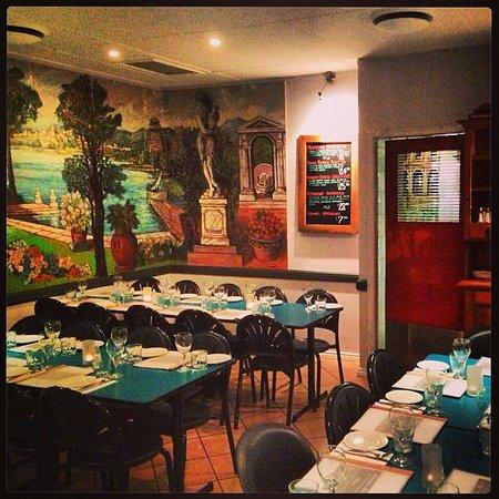 Mamma Mia's Italian Restaurant: Inside the restaurant.