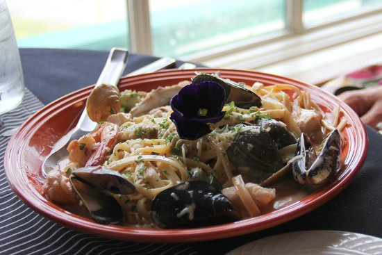 Cafe Cups: Dave's twisted fettucine