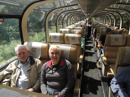 The Rocky Mountaineer: Grandpa & I on the Gold Leaf Train