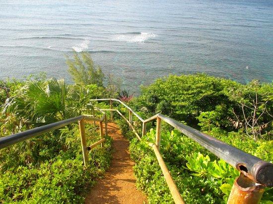 Pali Ke Kua Beach Hideaway S From The Top