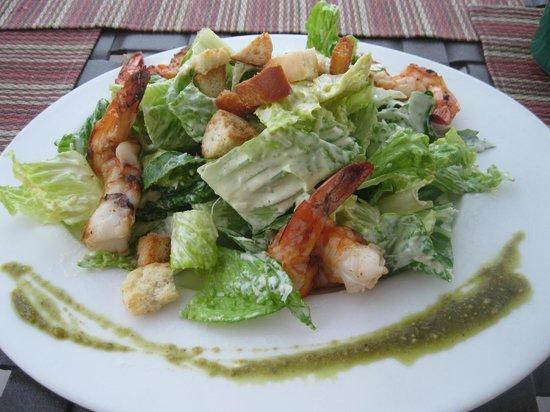Los Olivos Restaurant at La Mision: Shrimp caesar.