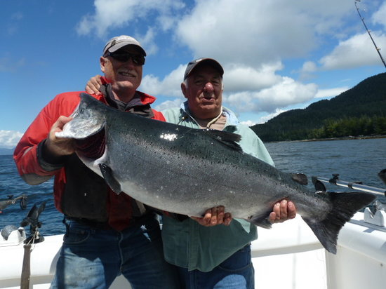 First City Charters: 42 pound King Salmon, July 2013