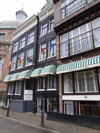Singel Hotel Amsterdam: Entrada do Sigle Hotel