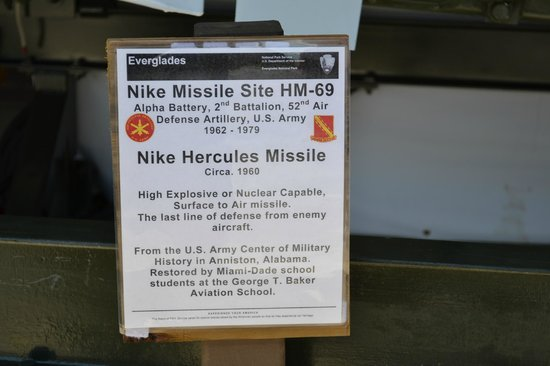 Picture Of HM69 Nike Missile Base