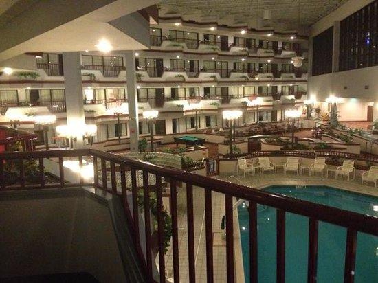Howard Johnson Inn Lima Hojo Room With A View