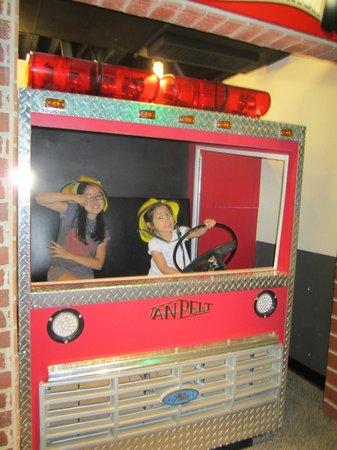 San Luis Obispo Children's Museum: firetruck