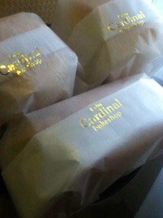Gran Tierra Suites: Welcome Pastries