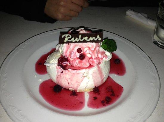Rubens: Slow baked meringue