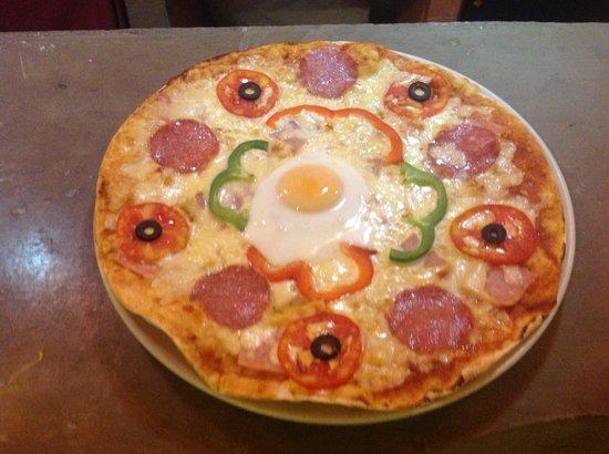 La Villa Corse : Pizza