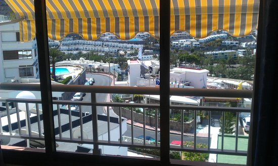 Tindaya Executive Apartments : View from Bedroom over the town
