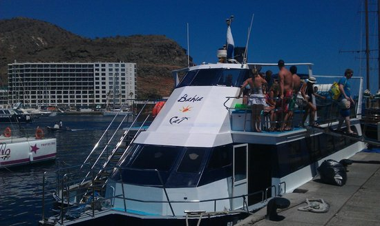 Tindaya Executive Apartments : Cruise we went on