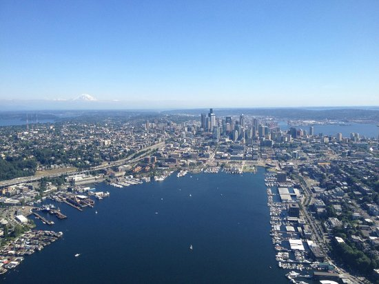 Panoramic View Of Downtown Seattle Amp Lake Union Picture