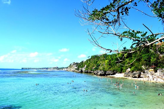 Pecatu, อินโดนีเซีย: padang-padang beach
