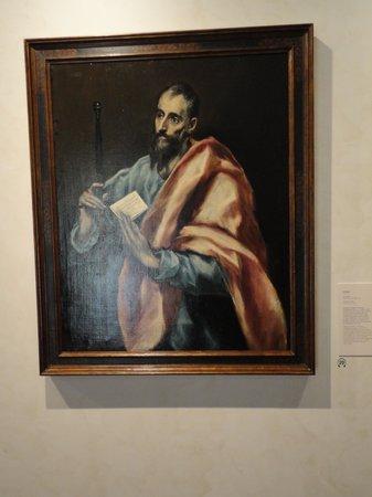 Museo Convento De Santo Domingo El Antiguo: San Pablo (my husband)