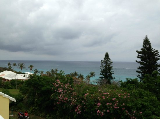 Elbow Beach, Bermuda: View from the Lobby
