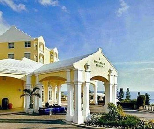 Elbow Beach, Bermuda: Hotel Facade